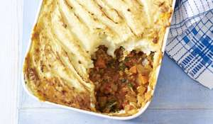 Vegetable and Lentil Cottage Pie