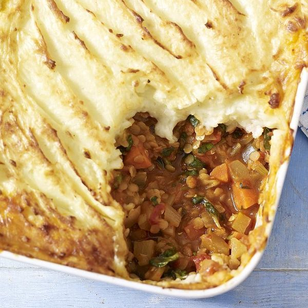 Mary berrys vegetable and lentil cottage pie tuck into this vegetarian cottage pie from mary berry for a hearty dinner or weekend lunch this recipe is a great winter warmer and perfect for big family forumfinder Choice Image