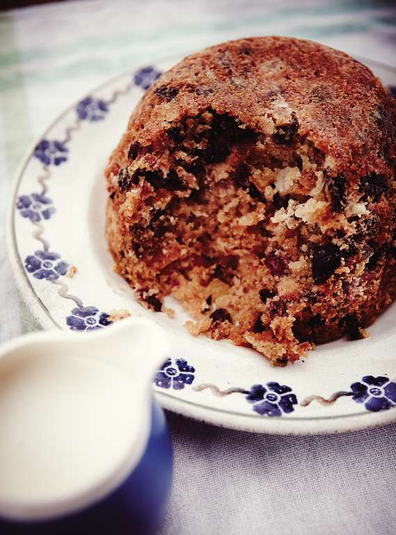 Lighter Christmas Pudding