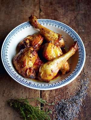 Poulet Au Citron Et Lavande (Lemon And Lavender Chicken)