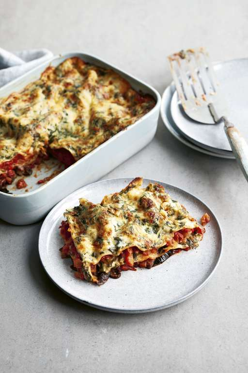 Five Vegetable Lasagne