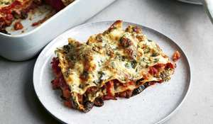 Five Vegetable Lasagne | Low-calorie Vegetarian Recipes