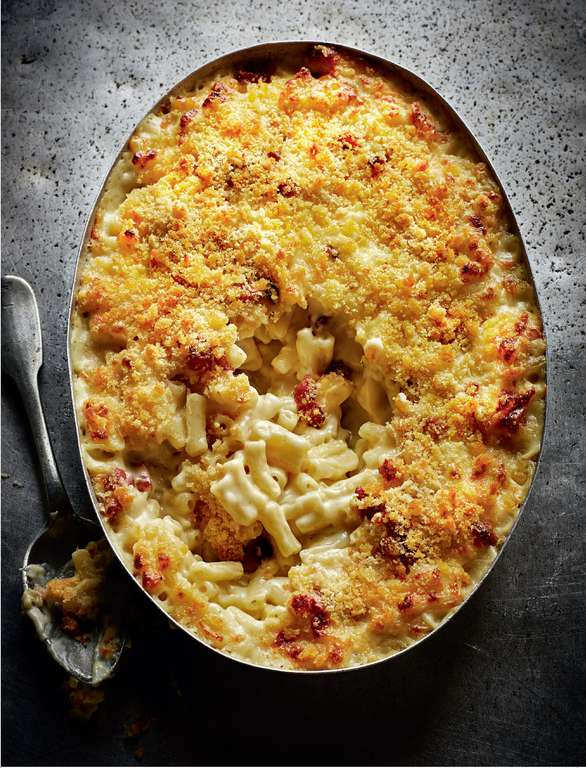 Macaroni Cheese with Smoky Bacon