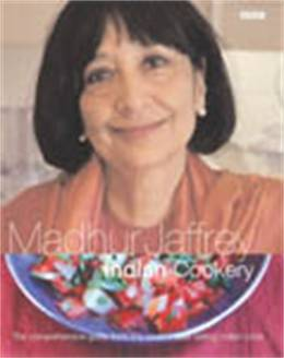 Cover of Madhur Jaffrey's Indian Cookery