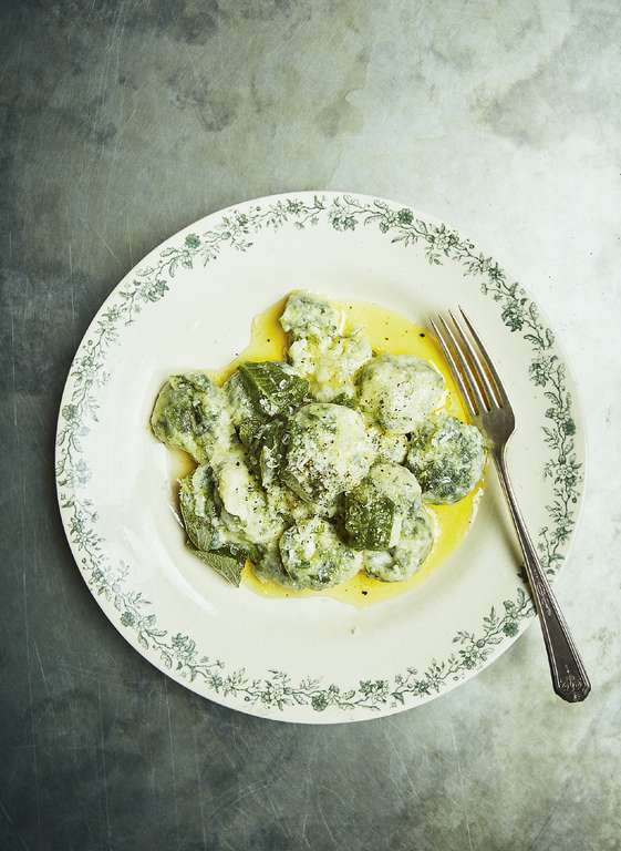 Russell Norman's Spinach and Ricotta Malfatti