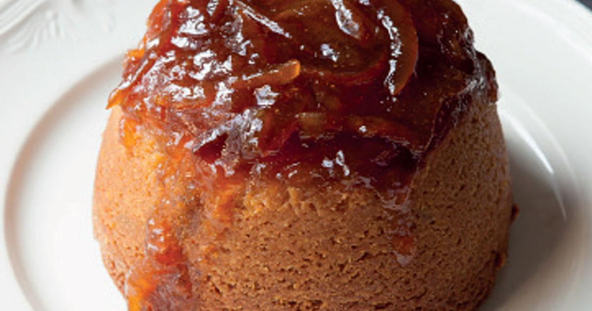 Moist Christmas Cake Recipe Jamie Oliver: Steamed Marmalade Sponge And Whisky Custard