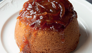 Steamed Marmalade Sponge and Whisky Custard from Justin Gellalty's Bread, Cake, Doughnut, Pudding