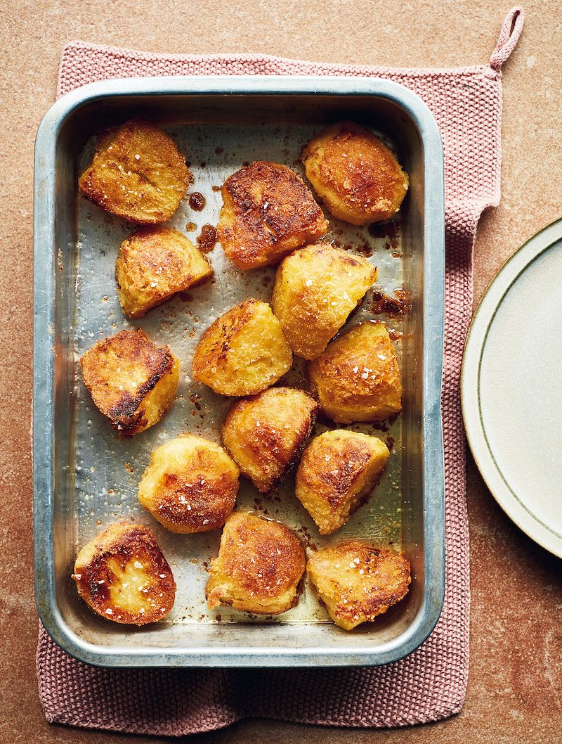 mary berry simple comforts best ever roast potatoes