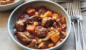 Mary Berry Lamb, Sweet Potato & Bean Stew | BBC2 Simple Comforts
