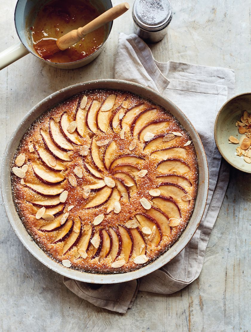 Mary Berry Comfort Food Brioche Frangipane Apple Pudding Recipe