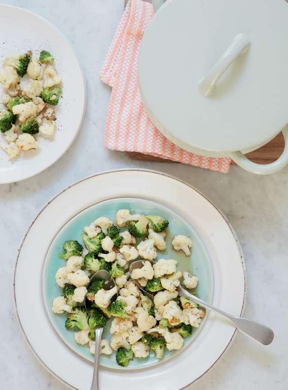 Mary Berry's Broccoli and Cauliflower Stir-fry