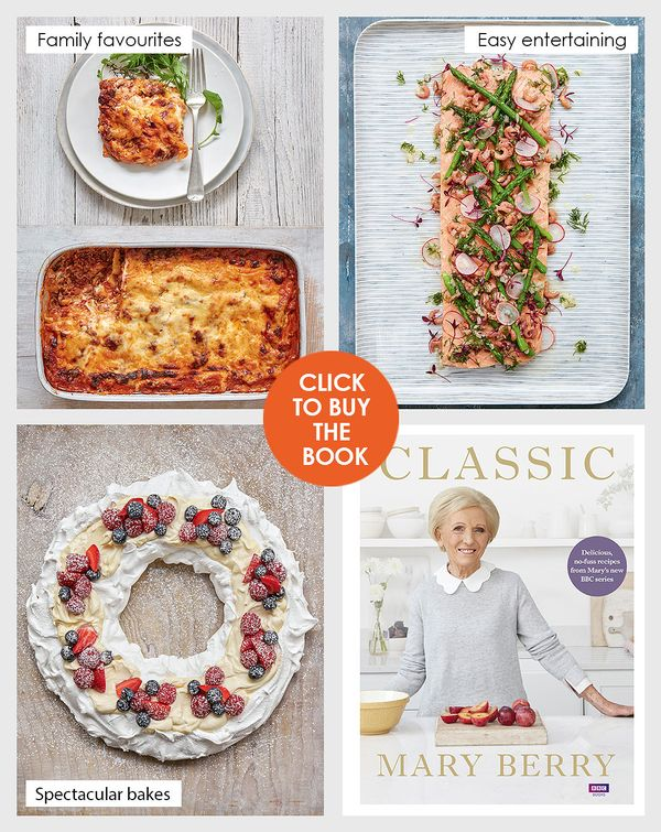 Buy the Classic by Mary Berry cookbook