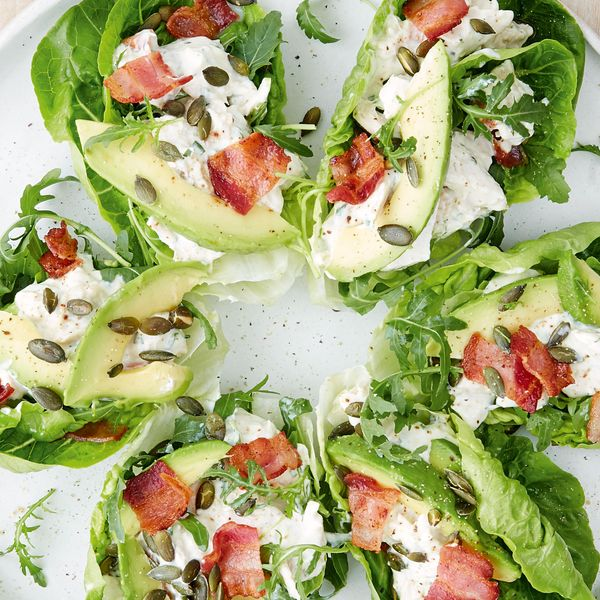 Mary berrys chicken avocado bacon salad a well presented and flavourful salad this recipe from mary berrys bbc series classic is a great addition to a dinner party spread or perfect for a light forumfinder Choice Image