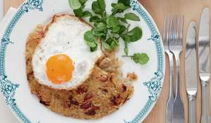 Crispy Bacon Rösti Recipe | Mary Berry Everyday BBC2
