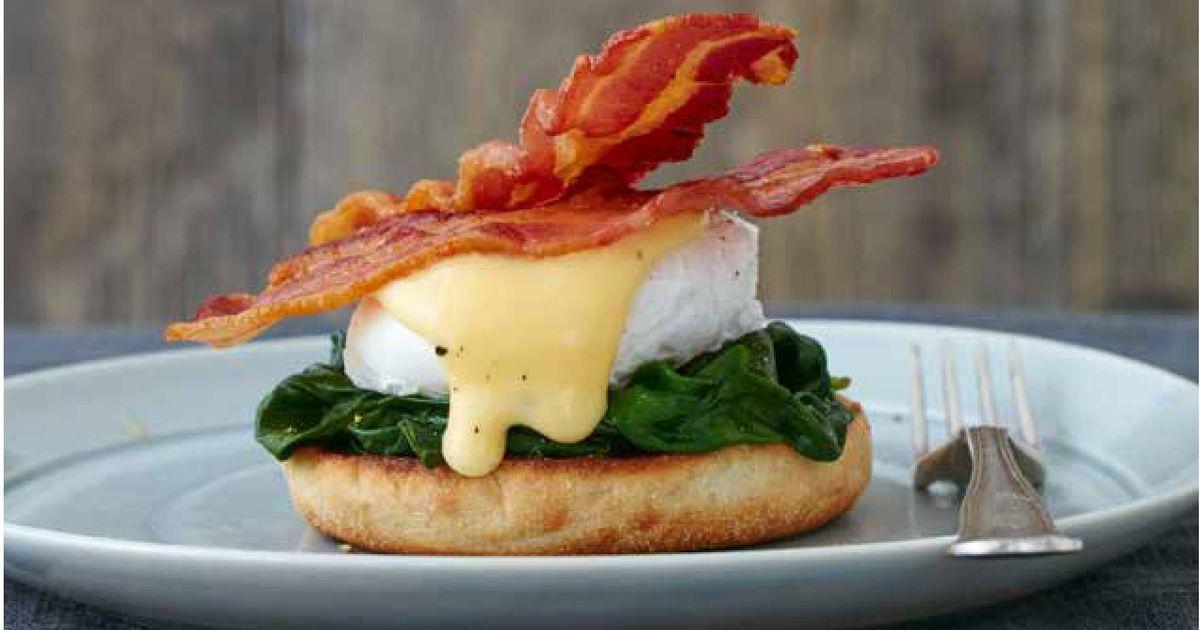 Hasil gambar untuk egg benedict