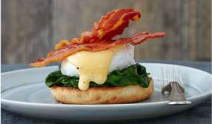 Mary Berry's Eggs Benedict with Spinach