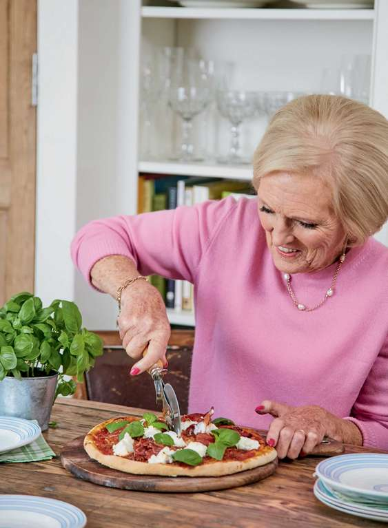 Mary Berry's Homemade Pizza with Parma Ham
