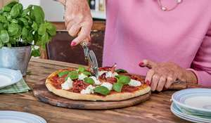 Mary Berry's Homemade Pizza with Parma Ham Recipe | BBC2 Everyday