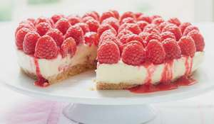 Mary Berry White Chocolate Raspberry Cheesecake Recipe | BBC2 Everyday