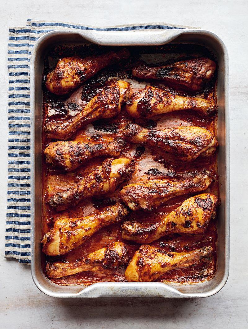 best mary berry chicken recipes Smoky Firecracker Chicken Drumsticks simple comforts