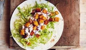 Mary Berry Mixed Bean & Butternut Wraps | BBC2 Simple Comforts