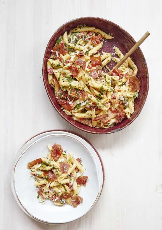 Mary Berry's Romano Pepper and Herb Penne