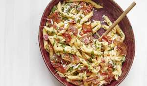 Mary Berry Romano Pepper & Herb Penne & Parma Ham Recipe