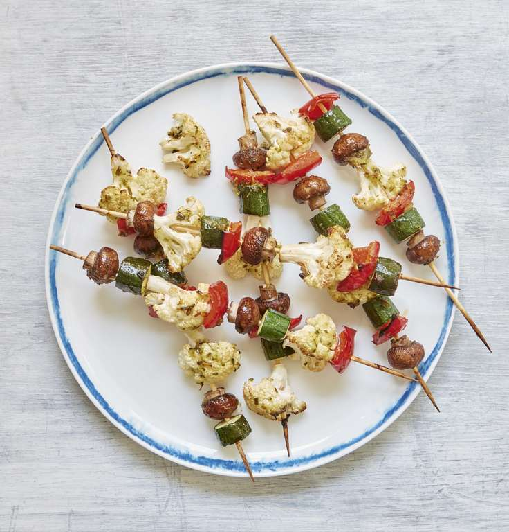 Mary Berry's Vegetable Kebabs