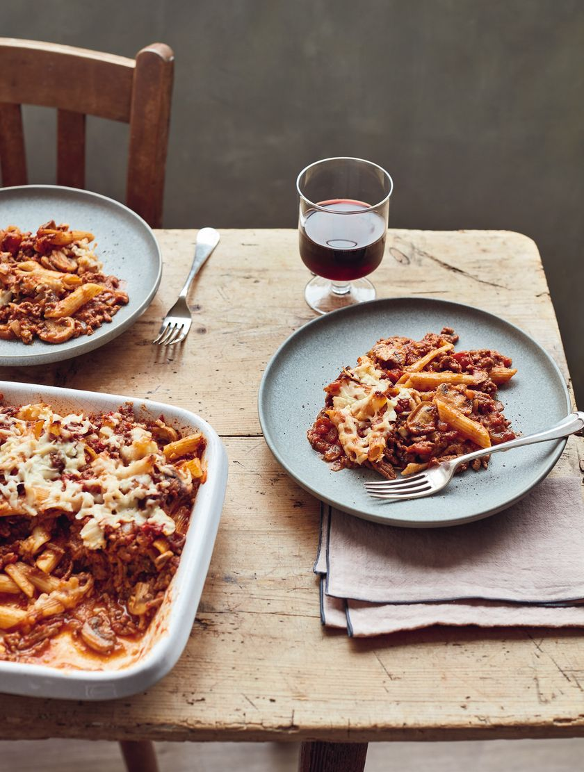 Mary Berry Bolognese Bake Simple Comforts BBC2