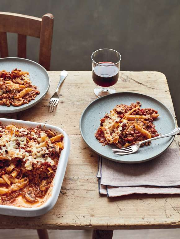 Mary Berry's Bolognese Bake