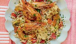 Harissa Prawns with Spiced Rice Recipe | Mary Berry Everyday BBC2