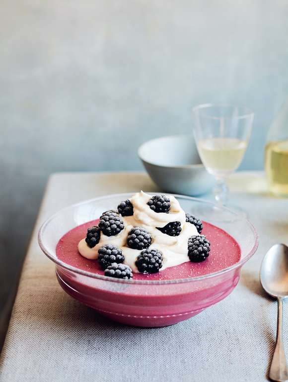 Mary Berry's Wild Bramble Mousse