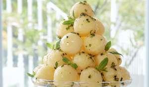 Mary Berry Mango & Passion Fruit Sorbet | BBC2 Mary Berry Everyday