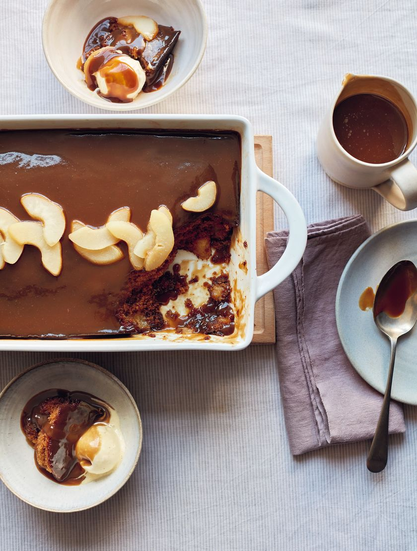Mary Berry Toffee Pear Pudding Recipe