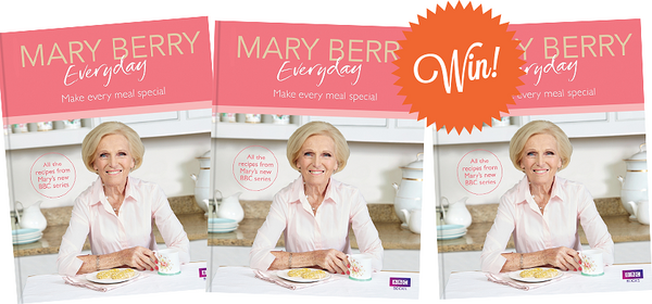 win signed copies of mary berry everyday