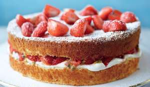 Mary Berry's Wimbledon Cake Recipe for Summer