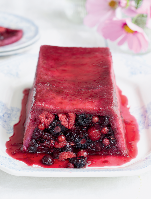 Summer Pudding Loaf - The Happy Foodie