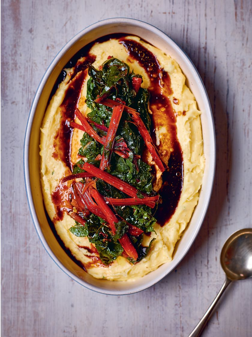 best christmas sides Creamy Mashed Potato and Chard from Sabor by Nieves Barragán Mohacho
