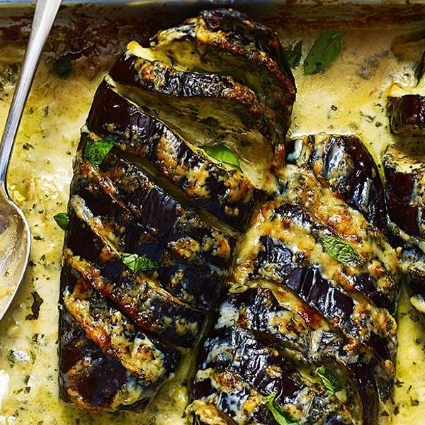 Mary Berry S Cheese Topped Baked Aubergines
