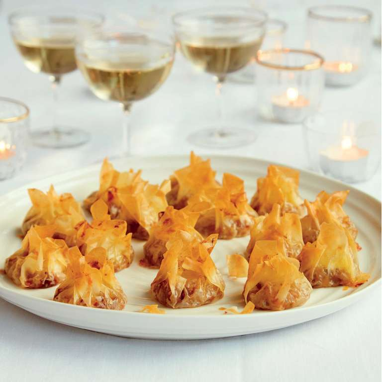 Mary Berry's Chestnut & Mushroom Parcels