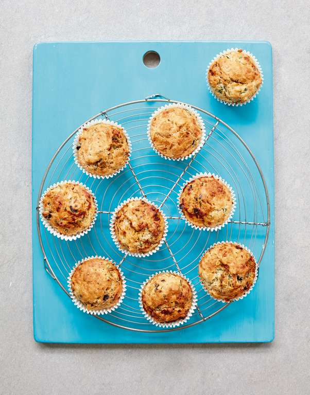 Mary Berry's Fast Cheesy Herb Muffins