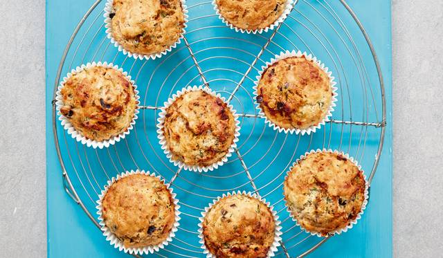 Mary Berry Fast Cheesy Herb Muffins Recipe Quick Cooking Bbc 2