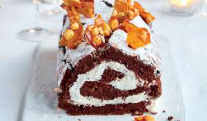 Mary Berry Chocolate Roulade | Christmas Dessert Recipe