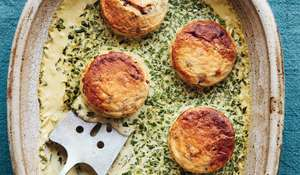 Mary Berry Double-Baked Mushroom Soufflés | BBC2 Simple Comforts