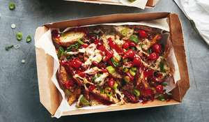 Meal Prep King Fully-Loaded Dirty Fries   Healthy Chips Recipe