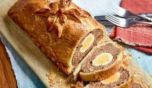Nadiya Hussain's Marmite Wellington with Egg | BBC Time To Eat