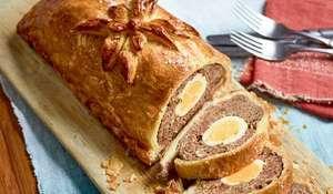 Nadiya Hussain's Marmite Wellington with Egg | BBC Time To Eat