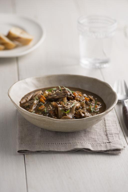 Meaty Mushroom Stew