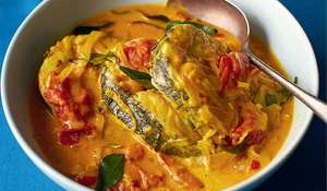Coconut Fish Curry (Fish Moilee)