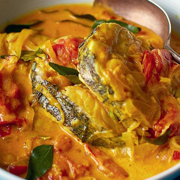 Coconut Fish Curry Fish Moilee